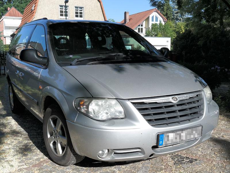 Kostenvoranschlag oder Gutachten Chrysler