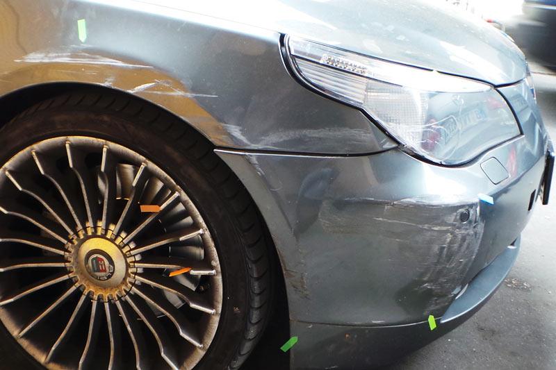 Unfall in Kreuzberg